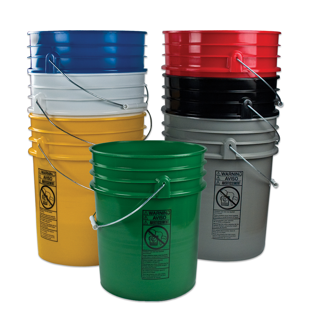 Premium 5 Gallon Buckets