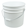 White 3 1/2 Gallon Bucket