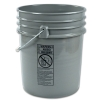 Gray 5 Gallon Bucket