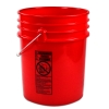 Red 5 Gallon Bucket