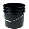 Black 3 1/2 Gallon Bucket