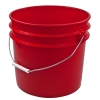 Red 3 1/2 Gallon Bucket
