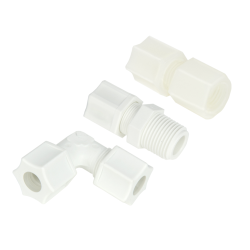 "Nylon & Polypropylene 1/4"" - 1/2"" with 220 psi Fittings"