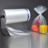 Utility/Food Bags on Rolls with Twist Ties