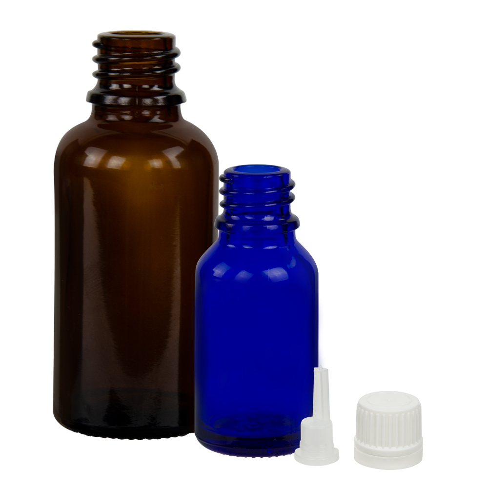 Essential Oil Bottles & Caps
