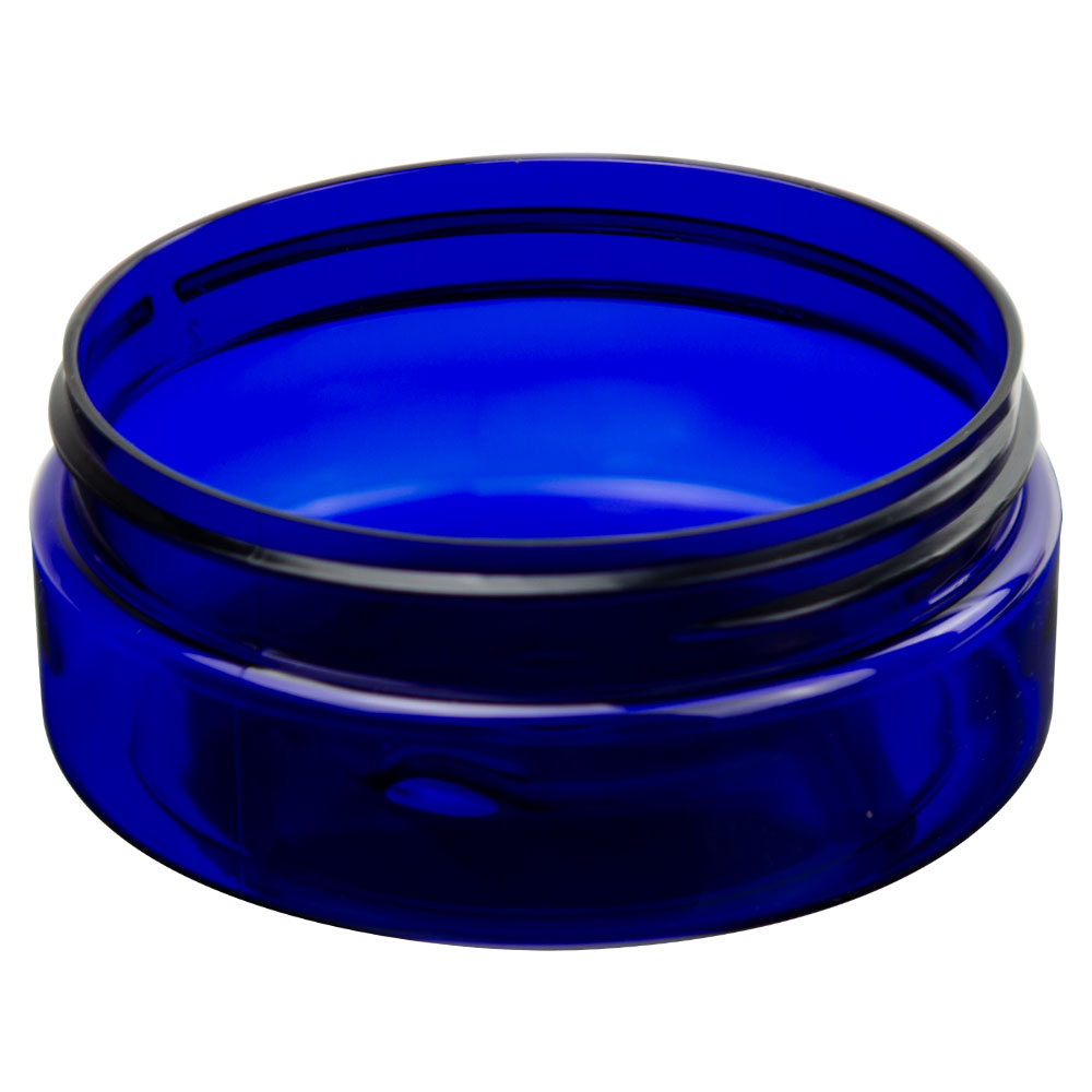 Cobalt Blue PET Jars