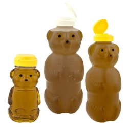 Honey Bottles & Honey Jars