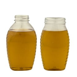 Oval PET Honey Jars