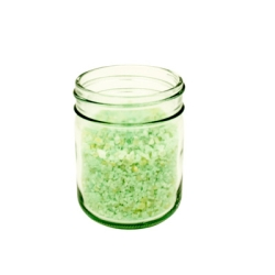 Clear Glass Jars & Metal Lids with Plastisol Liners