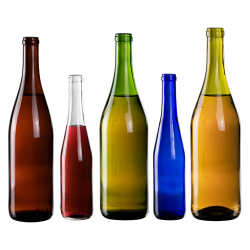 California Hock Glass Bottles
