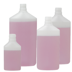Daily Flat Oval Bottles