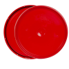 Red 2 Gallon Lid with Tear Tab