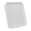 Super Kube White Lid for 4 & 5 Gallon Pails