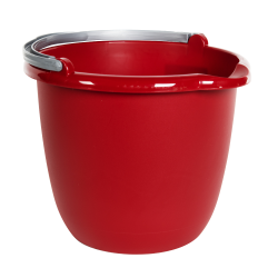 Sterilite® Red Spout Pail