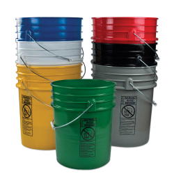 Premium 5 Gallon Buckets & Lids