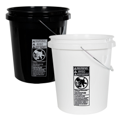 Economy 5 Gallon Buckets & Lids