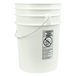 6, 6-1/2 & 7 Gallon Round Buckets & Lids