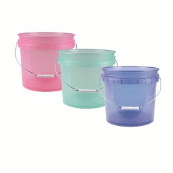 Translucent 1 & 3 Gallon Pails