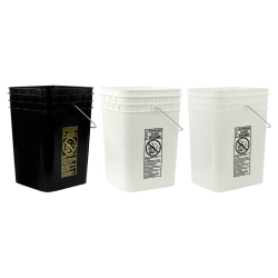 HDPE Square Buckets & Lids