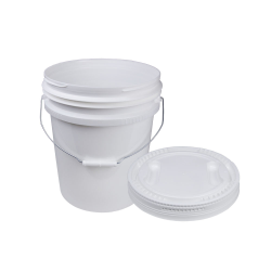 Revolutionary White 5 Gallon Pail & Lid