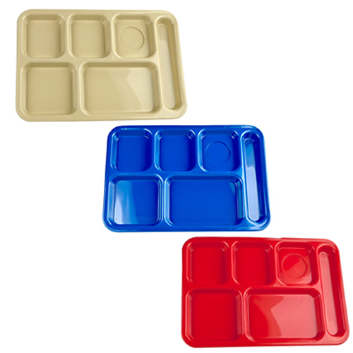 Right Hand 6 Compartment Trays