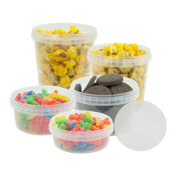 Safe Lock Polypropylene Containers & Lids
