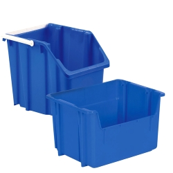 LEWISBins+ Stack and Carry Recycling Containers