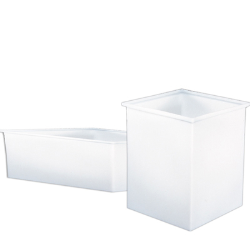 Molded Polypropylene Tanks with Covers & Casings