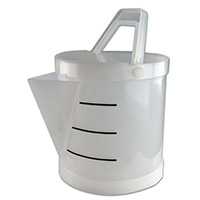 Tamco® Polypropylene Acid 3.5 Gallon Bucket with Spout