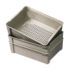 "21-1/8""L x 15-5/8""W x 6""H Wash Box with Solid Bottom"