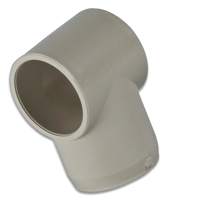 Putty Sling Slip Tee External Pipe Fitting