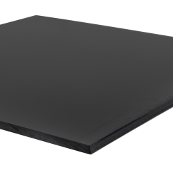 Recycled HDPE Black Sheet