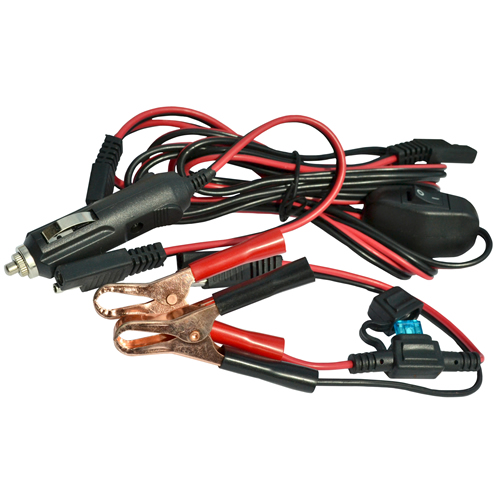 Wiring Harness with Battery Clip & Adapter
