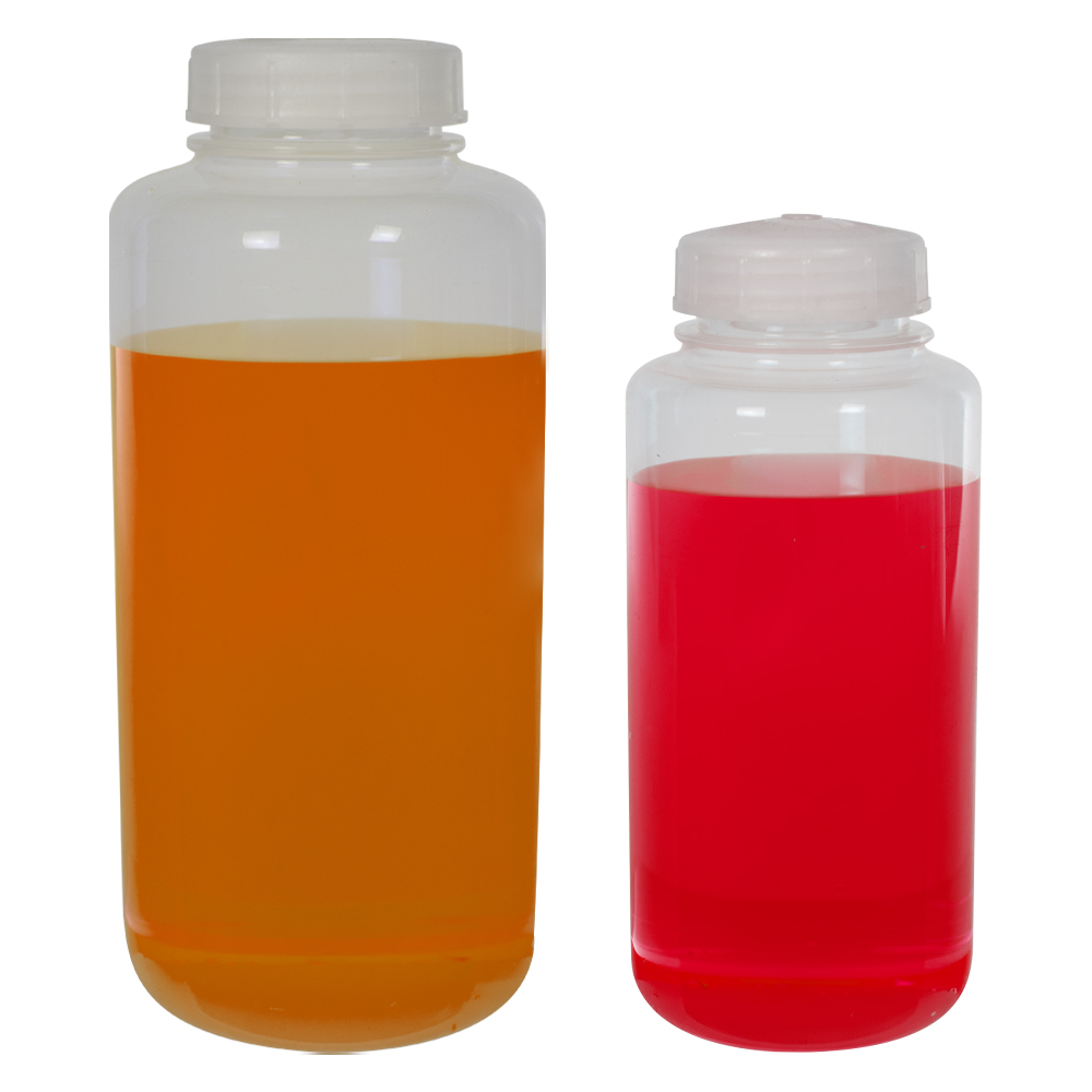 Thermo Scientific™ Nalgene™ Wide Mouth FEP Bottles made with Teflon®* Resin