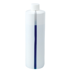 Easy-View Stripe Polyethylene Bottle with Caps