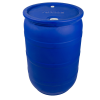 "30 Gallon Blue Closed Head Drum with 3/4"" & 2"" NPT Bungs"