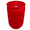 "30 Gallon Red Closed Head Drum with 3/4"" & 2"" NPT Bungs"
