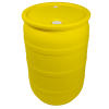 "30 Gallon Yellow Closed Head Drum with 3/4"" & 2"" NPT Bungs"