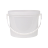 50 oz. Translucent Dairy Pail with Handle