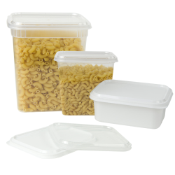 Qubic™ Containers & Lids