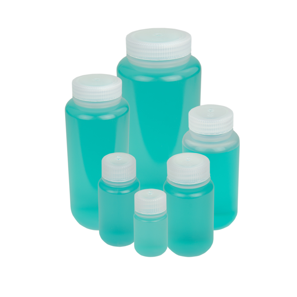 Thermo Scientific™ Nalgene™ Wide Mouth Economy Polypropylene Bottles