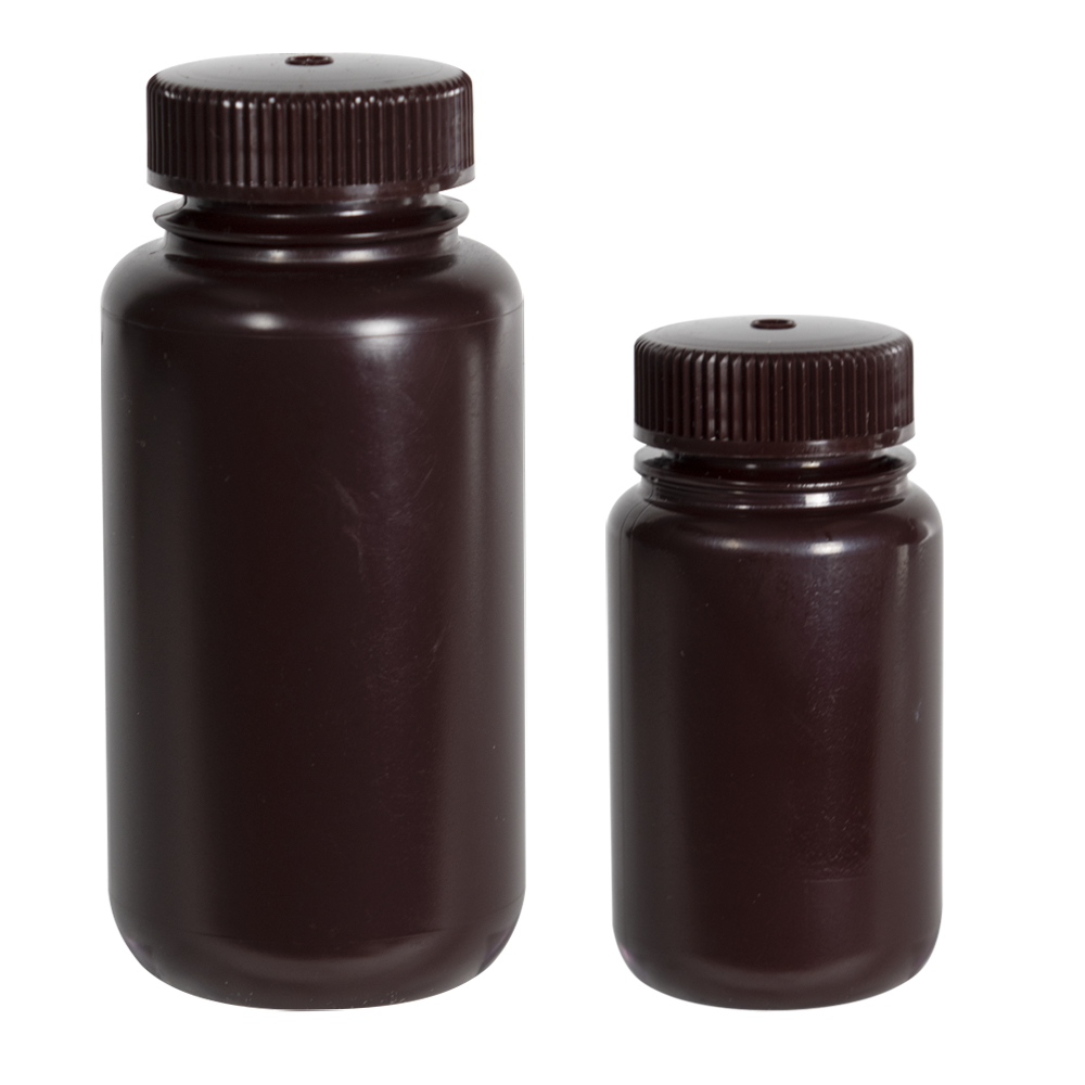Thermo Scientific™ Nalgene™ Wide Mouth Economy Amber Bottles