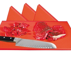 Red Cutting Board for Raw Meat