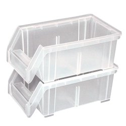 LEWISBins+™ Clear Hang & Stack Bins
