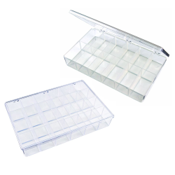 K-Resin® Transparent Plastic Parts Boxes