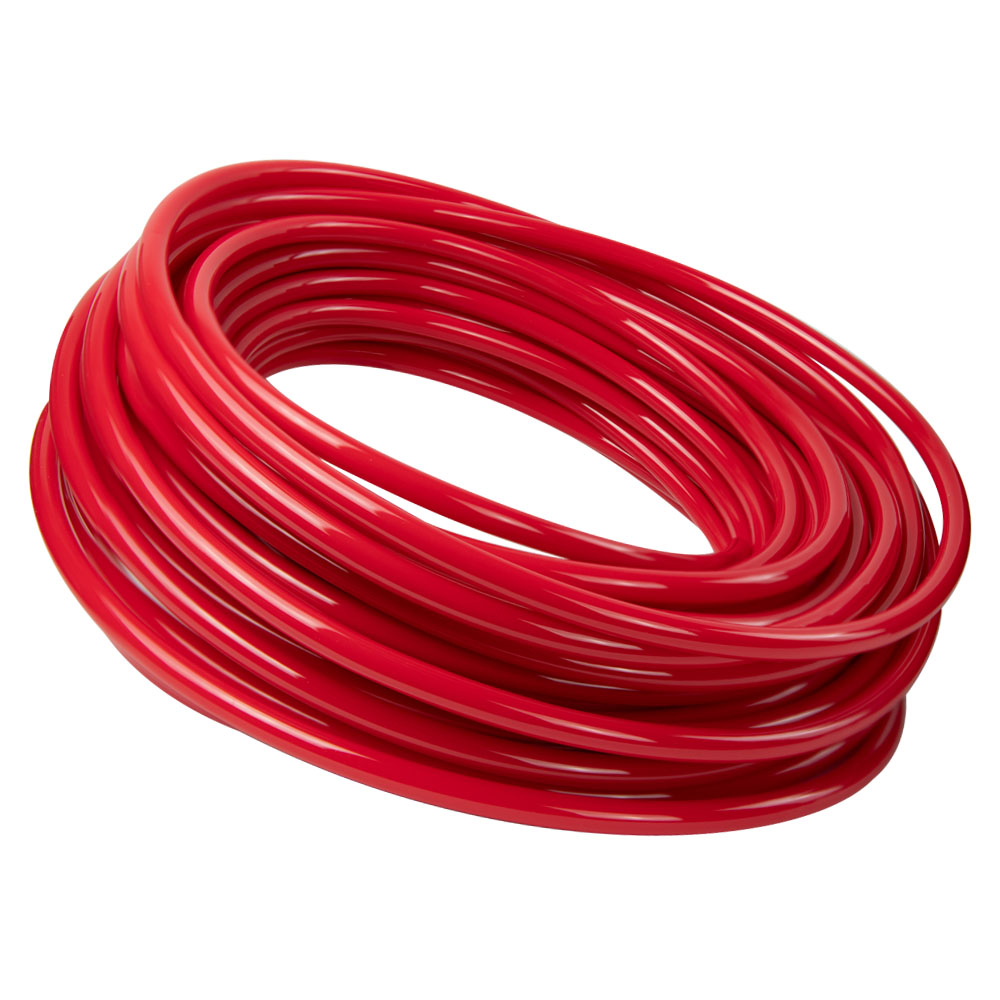 Opaque Red Polyurethane Tubing