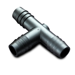 Black High Density Polyethylene (HDPE) Tube Fittings